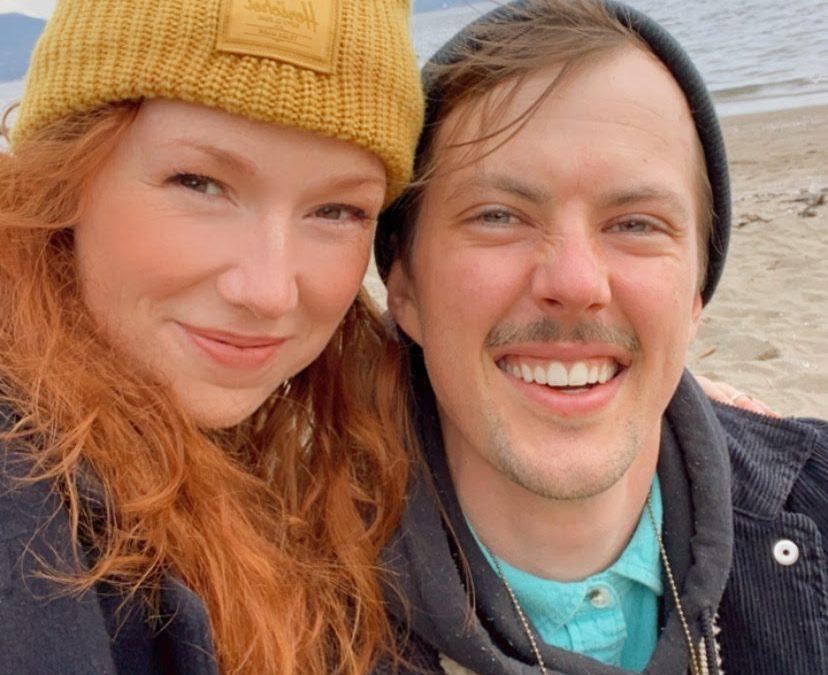 Jordan Stanley and Amanda Huxtable